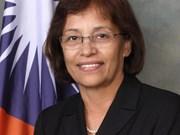Presidenta de Islas Marshall pide cooperación con Vietnam en protección de medio ambiente global
