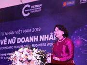 Vicepresidenta de Vietnam reitera prioridad de crear condiciones favorables para empresarias