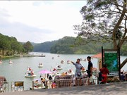 Ciudad vietnamita Da Lat llama la atención de turistas en los días feriados
