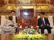 Intercambian autoridades de Hanoi y expertos africanos experiencias económicas