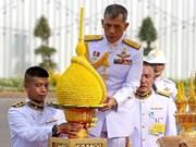 Maha Vajiralongkorn se corona rey de Tailandia