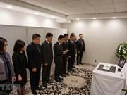 Efectúan en numerosos países actos de homenaje póstumo al expresidente vietnamita Le Duc Anh