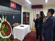 Rinde tributo al expresidente vietnamita Le Duc Anh en Chile