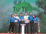 Promueven en Vietnam acciones por la limpieza del medio ambiente