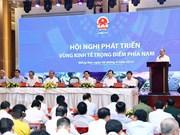 Preside premier vietnamita conferencia sobre desarrollo de la zona económica clave del Sur