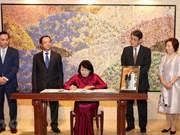 Felicita vicepresidenta de Vietnam al emperador japonés Naruhito por su coronación