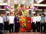 Vicepresidenta vietnamita elogia contribución de budistas a la construcción nacional