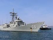 Realizan buques de guerra australianos visita de buena voluntad a Vietnam