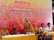 Participarán al menos mil 650 delegados en Día de Vesak en Vietnam