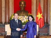 Llama vicepresidenta de Vietnam a fortalecer nexos judiciales con Corea del Norte