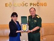 Promueven Vietnam y Japón cooperación en operaciones de paz