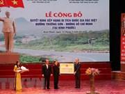 Vietnam reconoce legendaria ruta Ho Chi Minh como especial patrimonio nacional