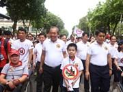 """Lanzan en Hanoi programa """"Beber alcohol - No conducir"""""""