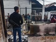 Policía indonesia recapturó a más de 100 presos fugados en isla de Sumatra