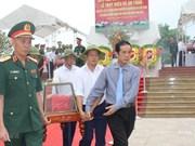 Repatrían restos de combatientes voluntarios vietnamitas caídos en Laos