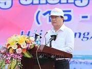 Lanzan en Vietnam Semana Nacional de Prevención de Desastres Naturales-2019