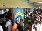 Triunfa partido gobernante en elecciones parciales en Filipinas, según resultado preliminar