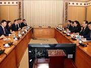 Impulsan cooperación entre Ciudad Ho Chi Minh y Singapur