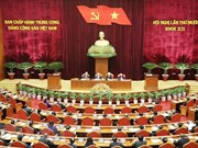 Inauguran el décimo pleno del Comité Central del Partido Comunista de Vietnam