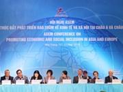Miembros de la ASEM acuerdan impulsar desarrollo económico y social inclusivo
