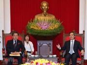 Insta Vietnam a inversiones japonesas en proyectos de energía, transporte e infraestructura