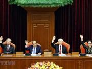 Clausuran décimo pleno del Comité Central del Partido Comunista de Vietnam