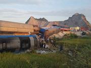 Más de 30 heridos en un choque de trenes en Filipinas