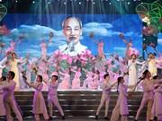 Rinden homenaje en Vietnam al Presidente Ho Chi Minh en el 129 aniversario de su natalicio