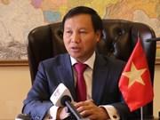 Resalta embajador vietnamita asociación estratégica integral con Rusia