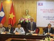 Localidades de Vietnam y Laos robustecen cooperación