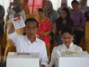 Anuncian reelección de Joko Widodo como presidente de Indonesia