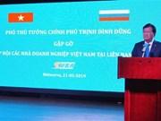 Vicepremier vietnamita se reunió con empresarios de su país radicados en Rusia