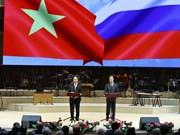 Inauguran en Moscú Año de la Amistad Vietnam-Rusia