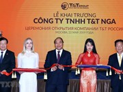 Asiste premier vietnamita a ceremonia de apertura del grupo T&T en Rusia