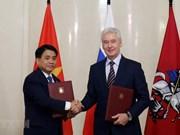 Promueven cooperación multifacética entre Hanoi y Moscú