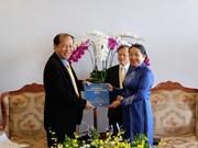 Delegación camboyana visita Ciudad Ho Chi Minh