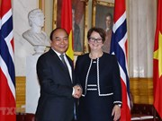 Premier vietnamita se reúne con presidenta del Parlamento noruego