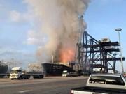 Más de 20 personas heridas en una explosión de carguero en Tailandia