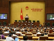 Analiza Parlamento vietnamita políticas de gestión de terreno urbano