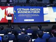 Efectúan en Estócolmo Foro Empresarial Vietnam-Suecia