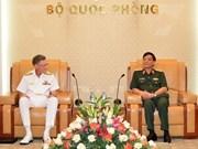 Fortalecen Vietnam y Australia colaboración militar