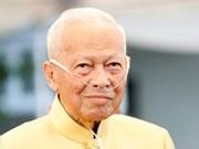 Envía Vietnam condolencias por fallecimiento de expremier tailandés