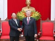 Vietnam prioriza desarrollo de amistad y cooperación con Camboya
