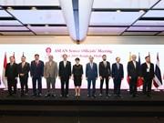 Inauguran en Tailandia reunión de altos funcionarios de la ASEAN