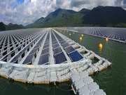 Inaugura Vietnam su  primera planta solar flotante
