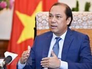 Altos funcionarios discuten la agenda de la 34 Cumbre de ASEAN