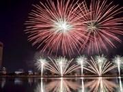 Ciudad vietnamita de Da Nang lista para el Festival Internacional de Fuegos Artificiales