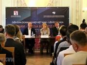 Amplían empresas de Vietnam y Rusia oportunidades de cooperación