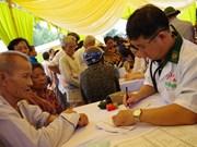 Ofrecen atención médica a personas pobres en región fronteriza Vietnam-Camboya