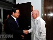 Realiza delegación partidista de Vietnam visita a Cuba